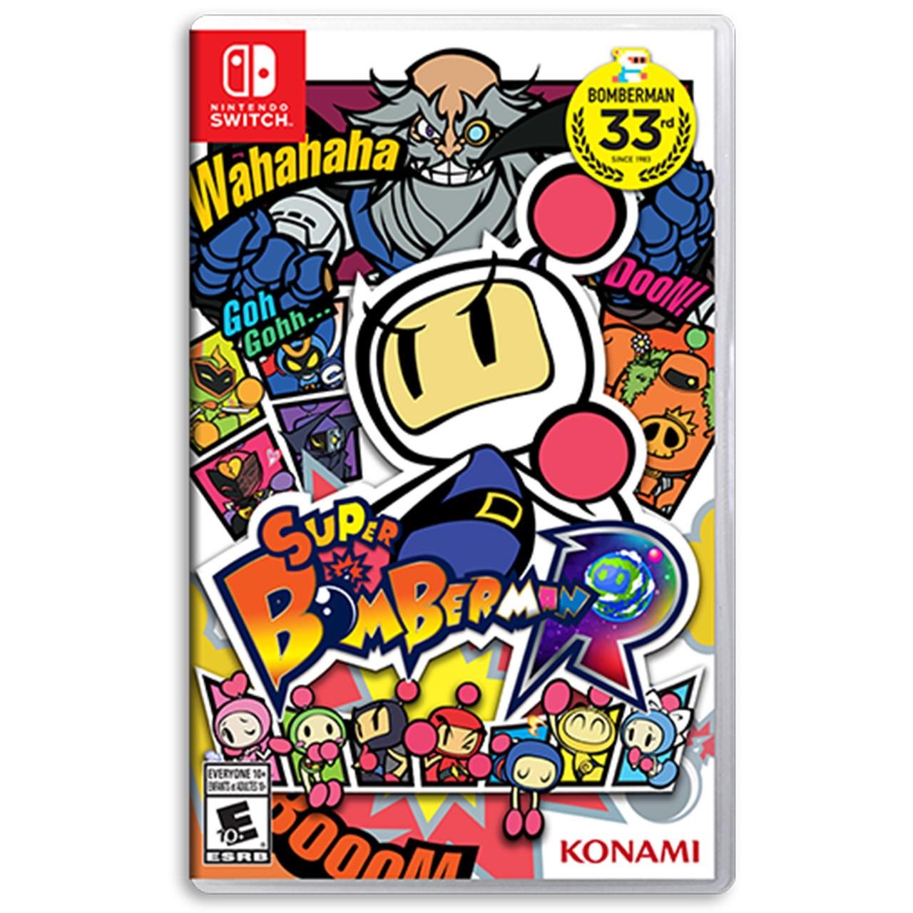 بازی Super Bomberman R مخصوص Nintendo Switch