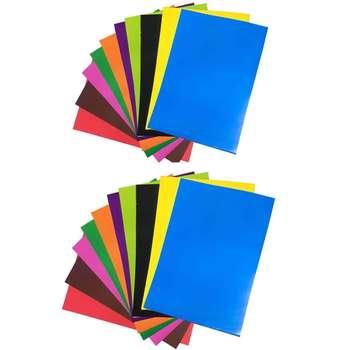 کاغذ رنگی A4 کد Pa 40 بسته 40 عددی