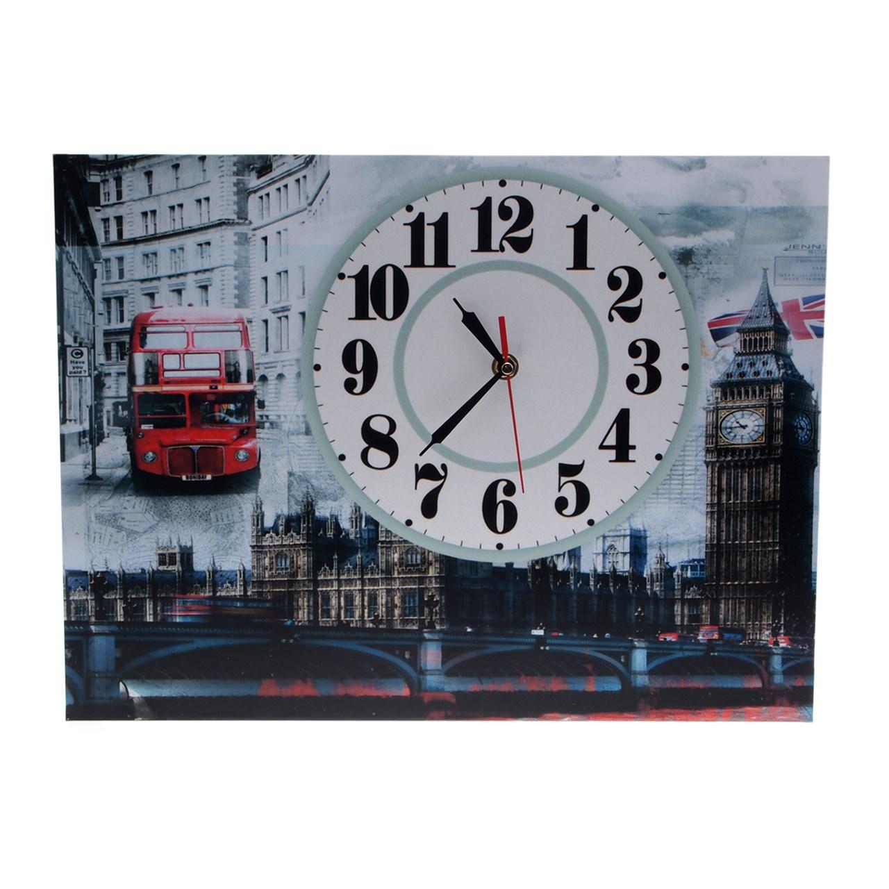 ساعت دیواری مدل London View 1