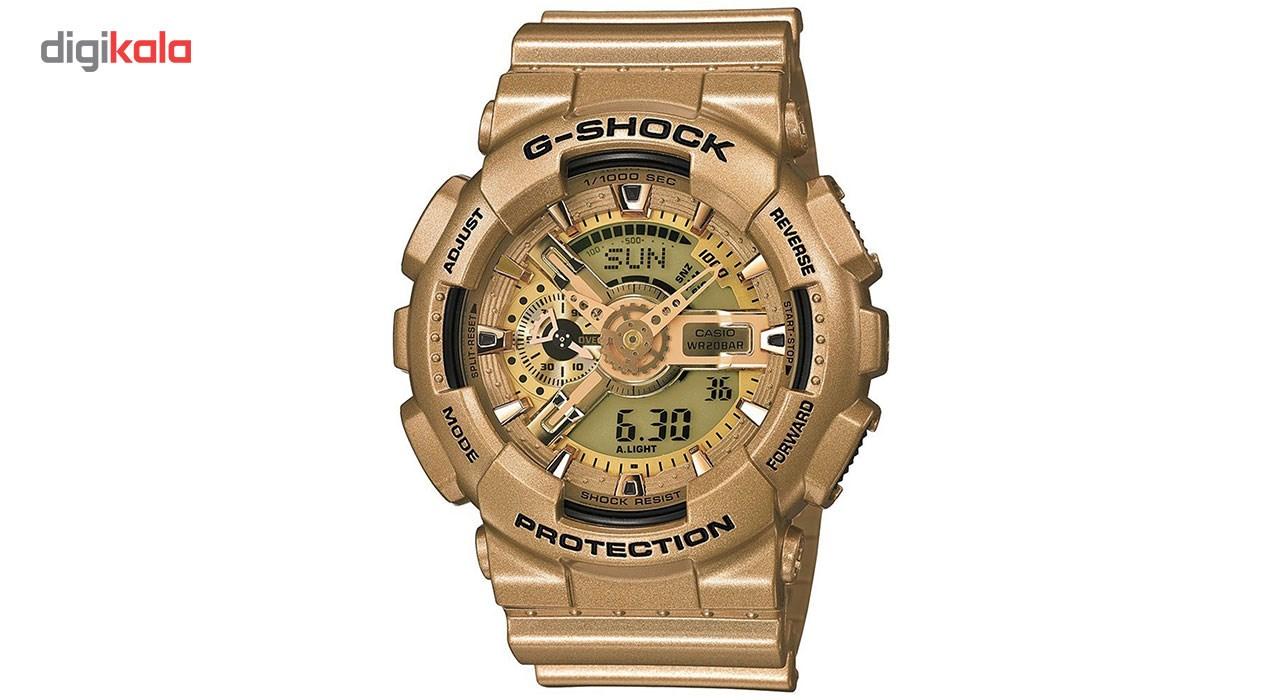 خرید ساعت مچی عقربه ای مردانه کاسیو مدل GA-110GD-9ADR