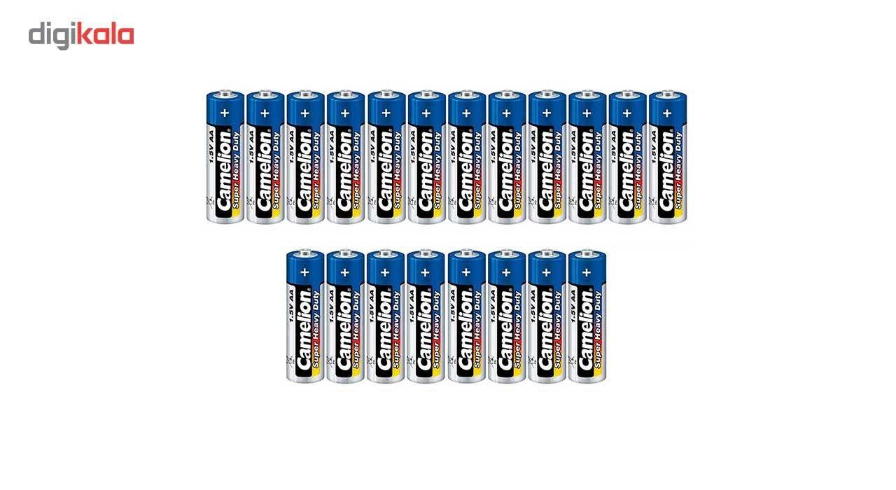 باتری قلمی کملیون مدل Super Heavy Duty بسته 20 عددی main 1 1