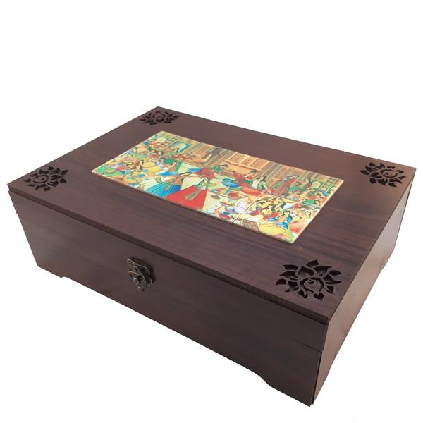 جعبه چای کیسه ای عشقی مدل ماهور