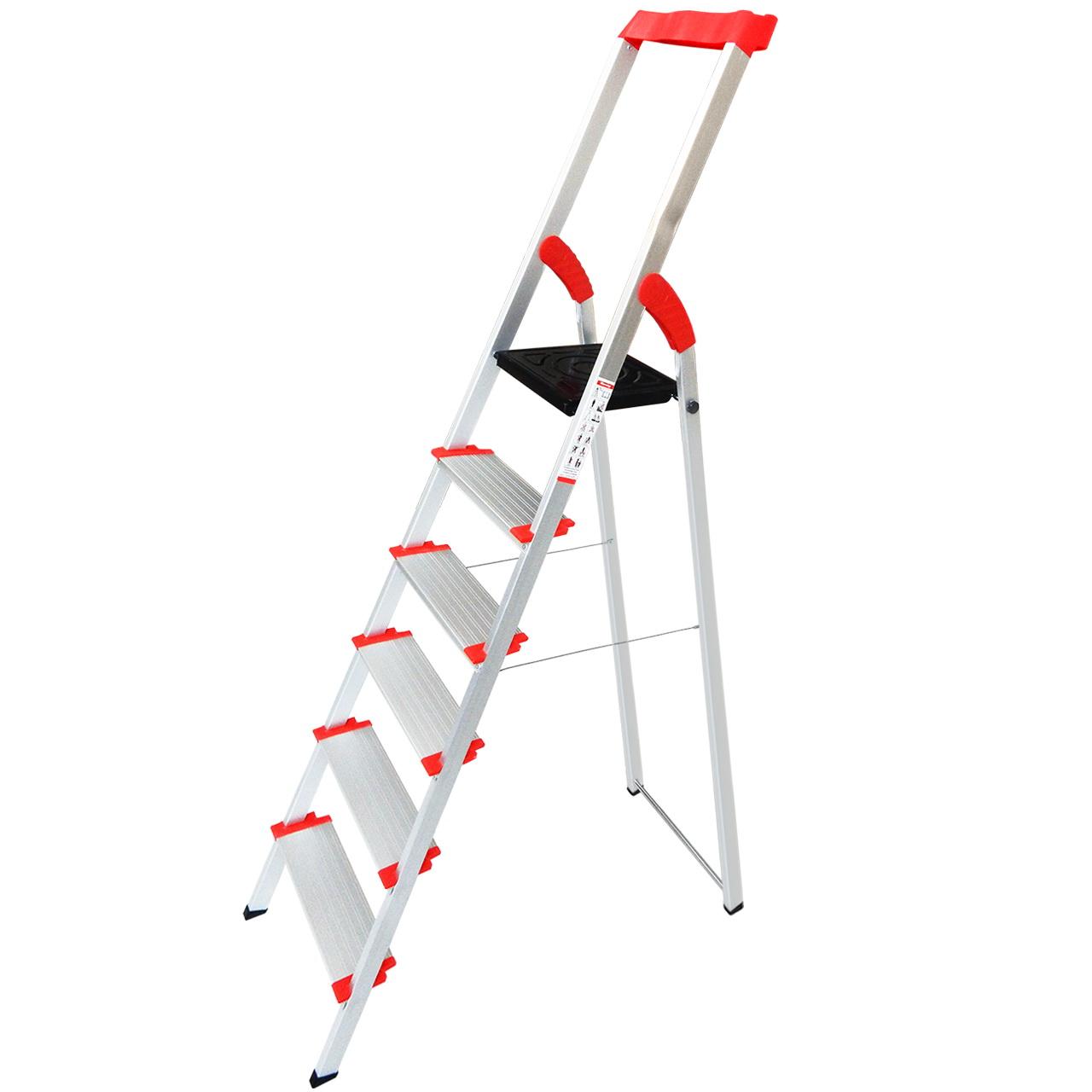 نردبان 6 پله مدل Yuksel