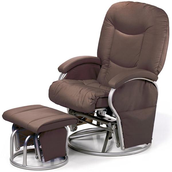 صندلی استراحت مادر هاوک مدل Metal Glider 11 Brown