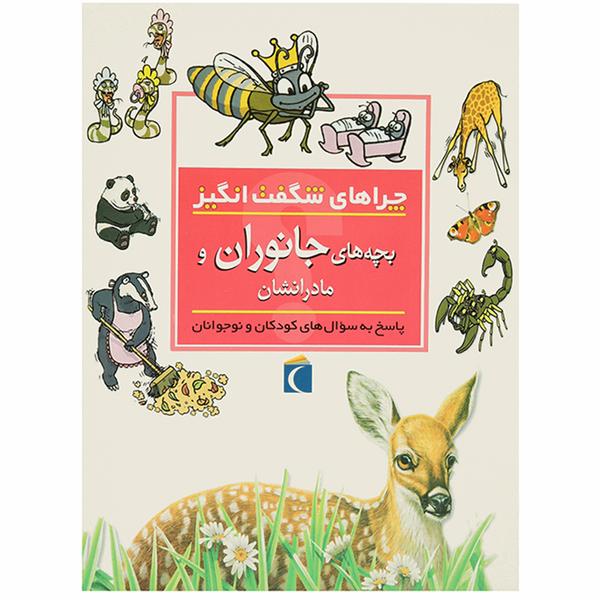 کتاب چراهای شگفت انگیز بچه های جانوران اثر جینی جانسون