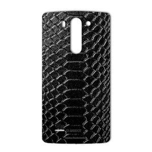 برچسب پوششی ماهوت مدل Snake Leather مناسب برای گوشی  LG G3 Beat