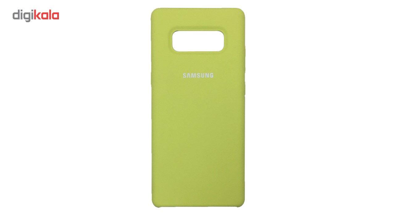 کاور سامسونگ مدل Silicone مناسب برای گوشی موبایل Galaxy Note 8 main 1 10