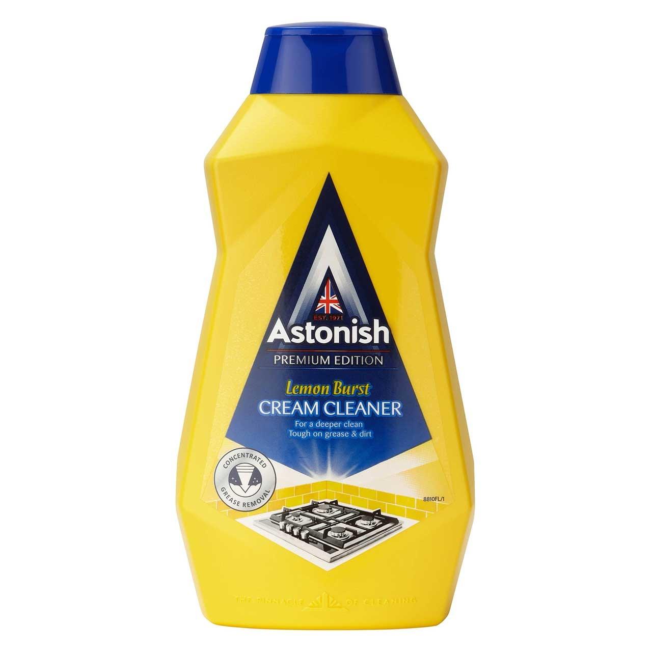 کرم پاک کننده استونیش مدل Lemon Brast حجم 500 میلیلیتر