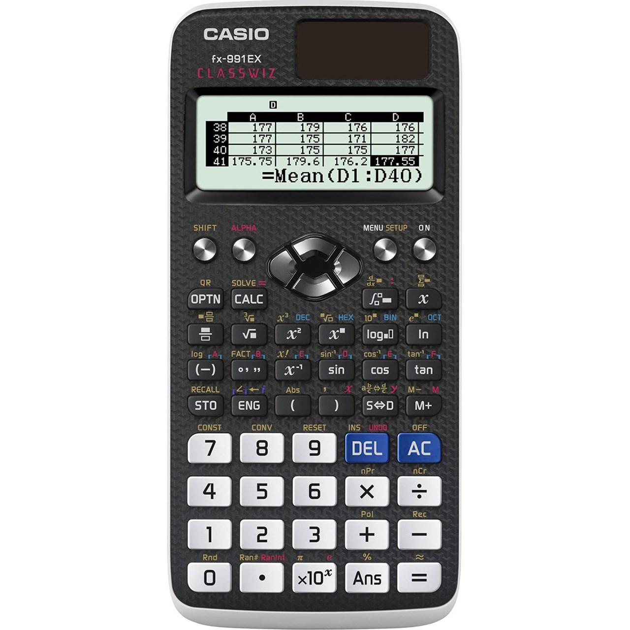خرید ماشین حساب مهندسی کاسیو مدل fx-991EX