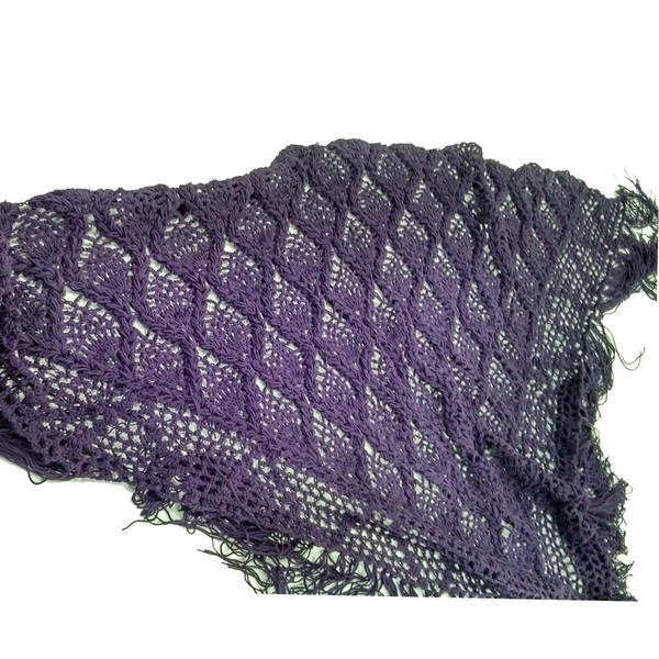 روسری صنایع دستی ماسوله مدل مثلثی