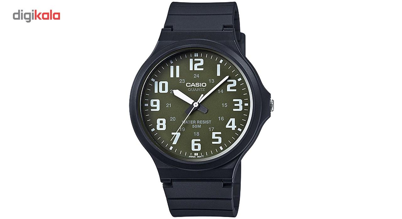 خرید ساعت مچی عقربه ای مردانه کاسیو مدل MW-240-3BVDF
