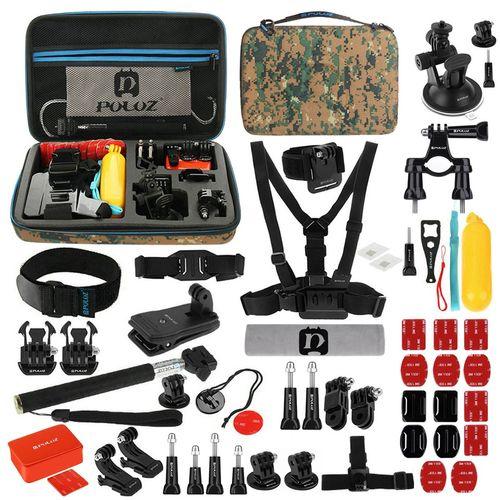 کیف لوازم جانبی پلوز مدل 53 تکه مناسب برای دوربین های ورزشی