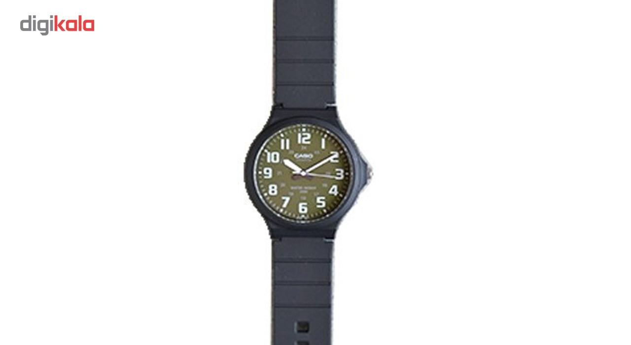 ساعت مچی عقربه ای مردانه کاسیو مدل MW-240-3BVDF