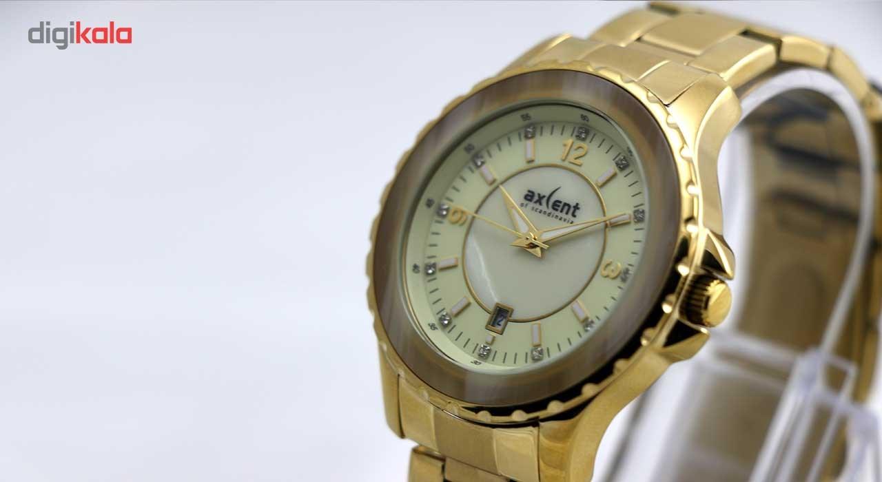 ساعت مچی عقربه ای مردانه اکسنت مدل ix52197-732