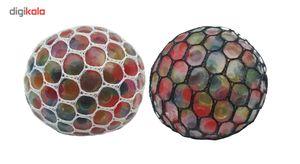 توپ بازی ضد استرس مدل Gel Bullets بسته 2 عددی  Gel Bullets Anti Stress Game Ball Pack Of 2