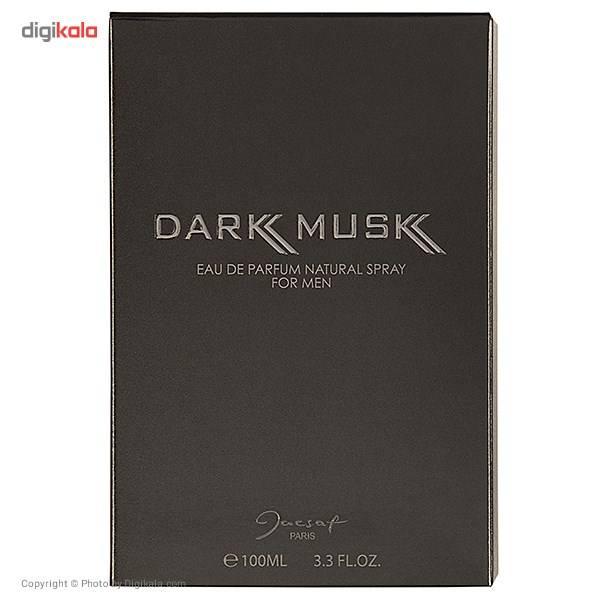 ادو پرفیوم مردانه ژک ساف مدل Dark Musk حجم 100 میلی لیتر main 1 2