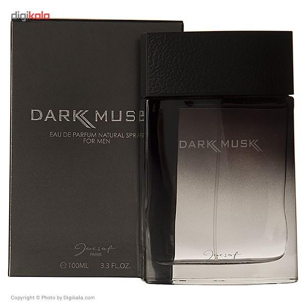 ادو پرفیوم مردانه ژک ساف مدل Dark Musk حجم 100 میلی لیتر main 1 3