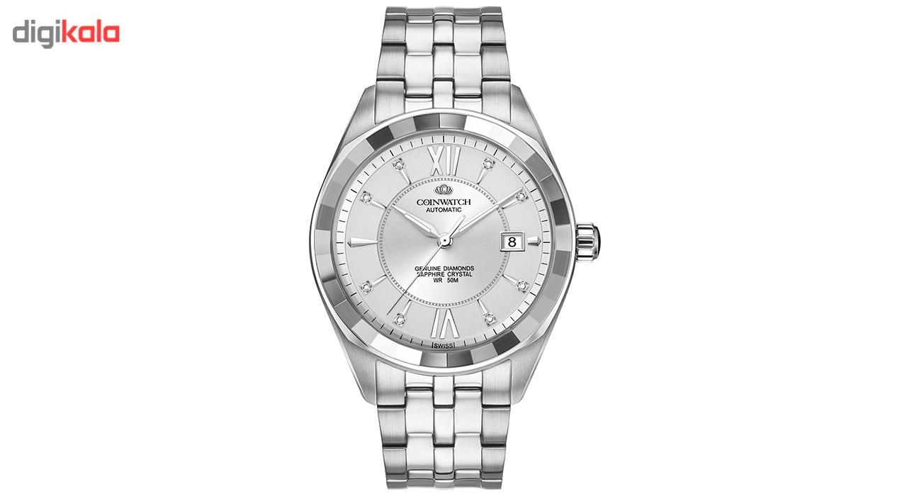 ساعت مچی عقربه ای مردانه کوین واچ مدل C155SWH
