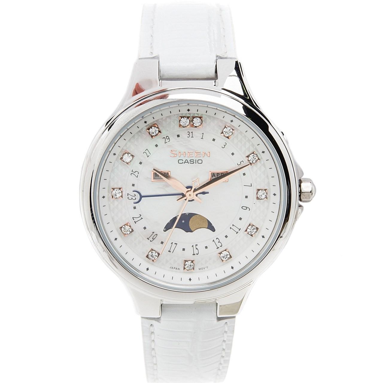 ساعت مچی عقربه ای زنانه کاسیو مدل SHE-3045L-7AUDR