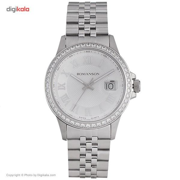 خرید ساعت مچی عقربه ای مردانه رومانسون مدل TM0361QM1WAS2W