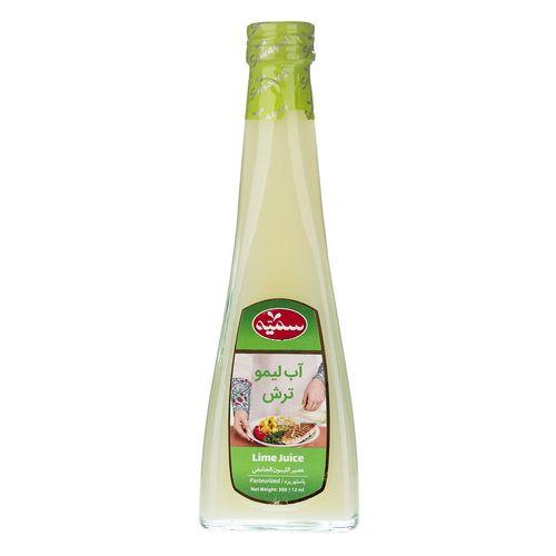 آب لیمو ترش سمیه مقدار 0.3 لیتر