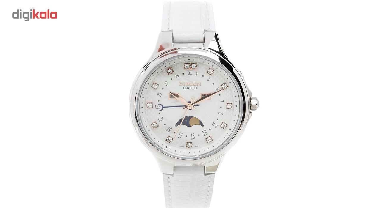 ساعت مچی عقربه ای زنانه کاسیو مدل SHE-3045L-7AUDR -  - 1