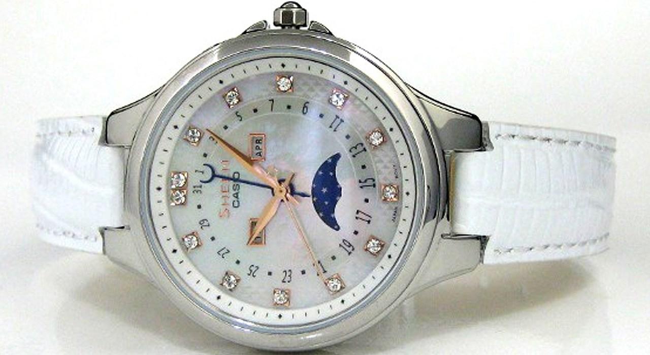 ساعت مچی عقربه ای زنانه کاسیو مدل SHE-3045L-7AUDR -  - 3