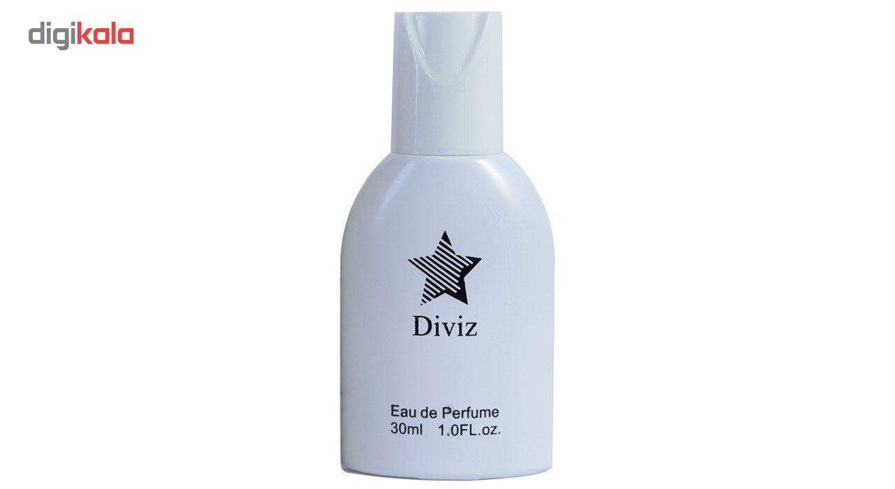 ادکلنزنانه دیوایز مدل ادوپرفیوم لانوین حجم 30 میلی لیتر  Diviz Lanvin Eau De Parfum for Women 30 ml