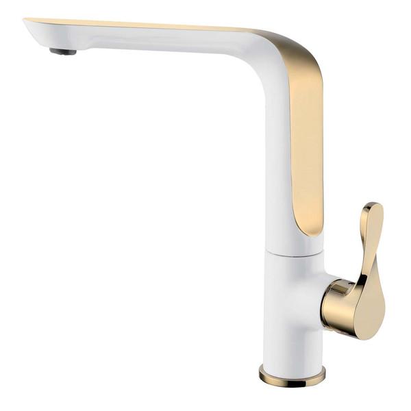 شیر آشپزخانه الپس مدل ALPS طلایی سفید