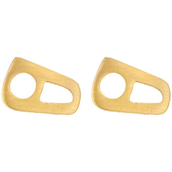 گوشواره طلای 18 عیار رزا مدل EG109