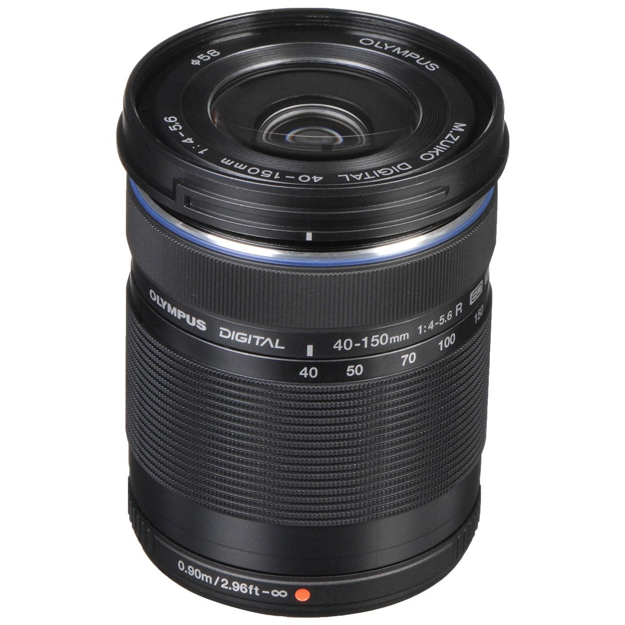 لنز الیمپوس مدل M.Zuiko ED 40-150mm f/4-5.6 R مناسب برای دوربین های الیمپوس