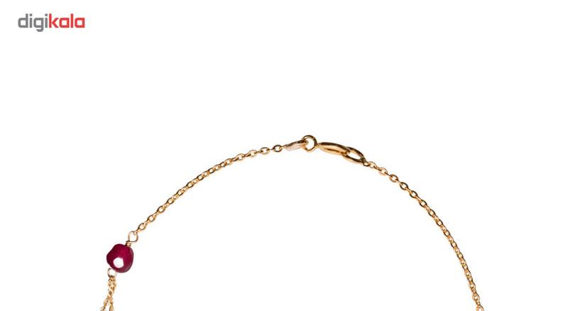 دستبند طلا 18 عیار گرامی گالری مدل B253