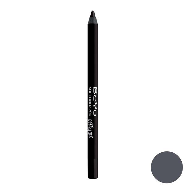 مداد چشم بی یو سری Soft Liner مدل Deep Black شماره 700