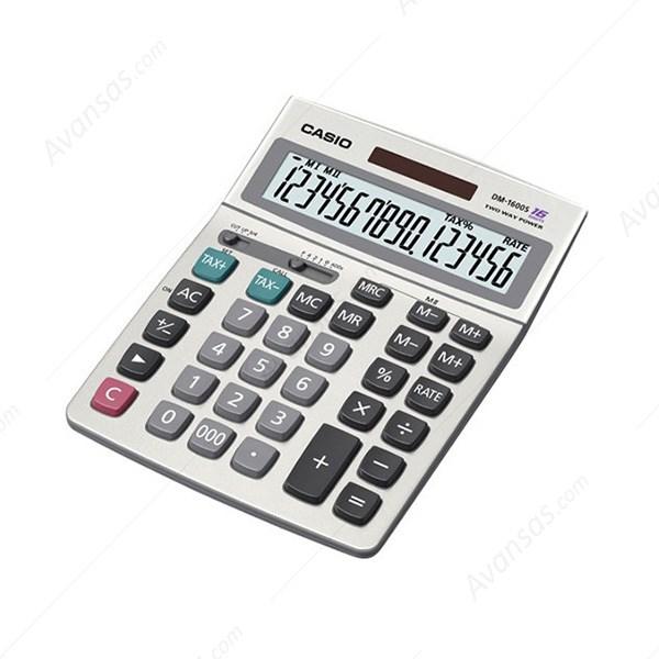 قیمت                      ماشین حساب کاسیو DM-1600s
