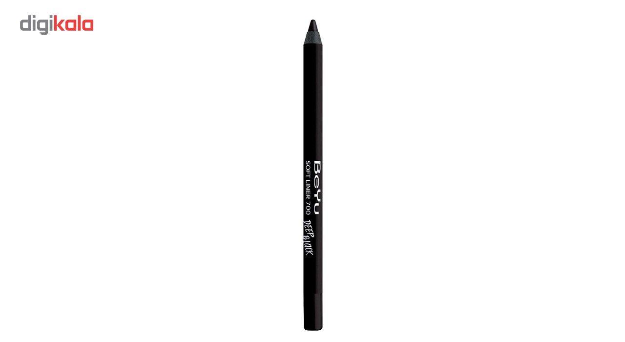 مداد چشم بی یو سری Soft Liner مدل Deep Black شماره 700 -  - 3