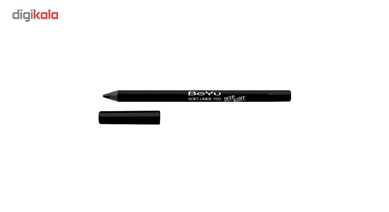 مداد چشم بی یو سری Soft Liner مدل Deep Black شماره 700 -  - 2