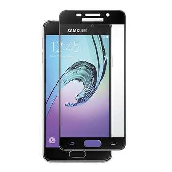 محافظ صفحه نمایش شیشه ای تمپرد مدل Full Cover مناسب برای گوشی موبایل  سامسونگ Galaxy A3 2016