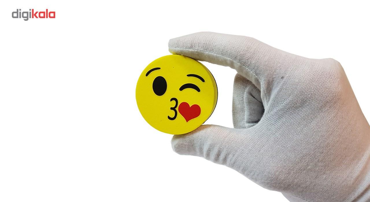 تخته پاک کن وایت برد مغناطیسی مدل قلب بسته دوعددی