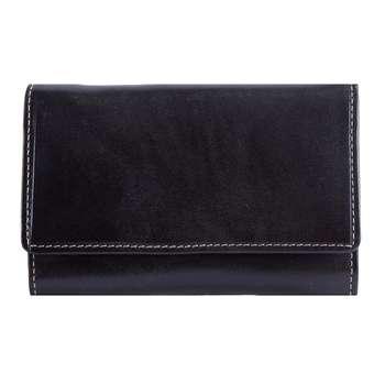 کیف پول زنانه رویال چرم کدW16-DarkBrown