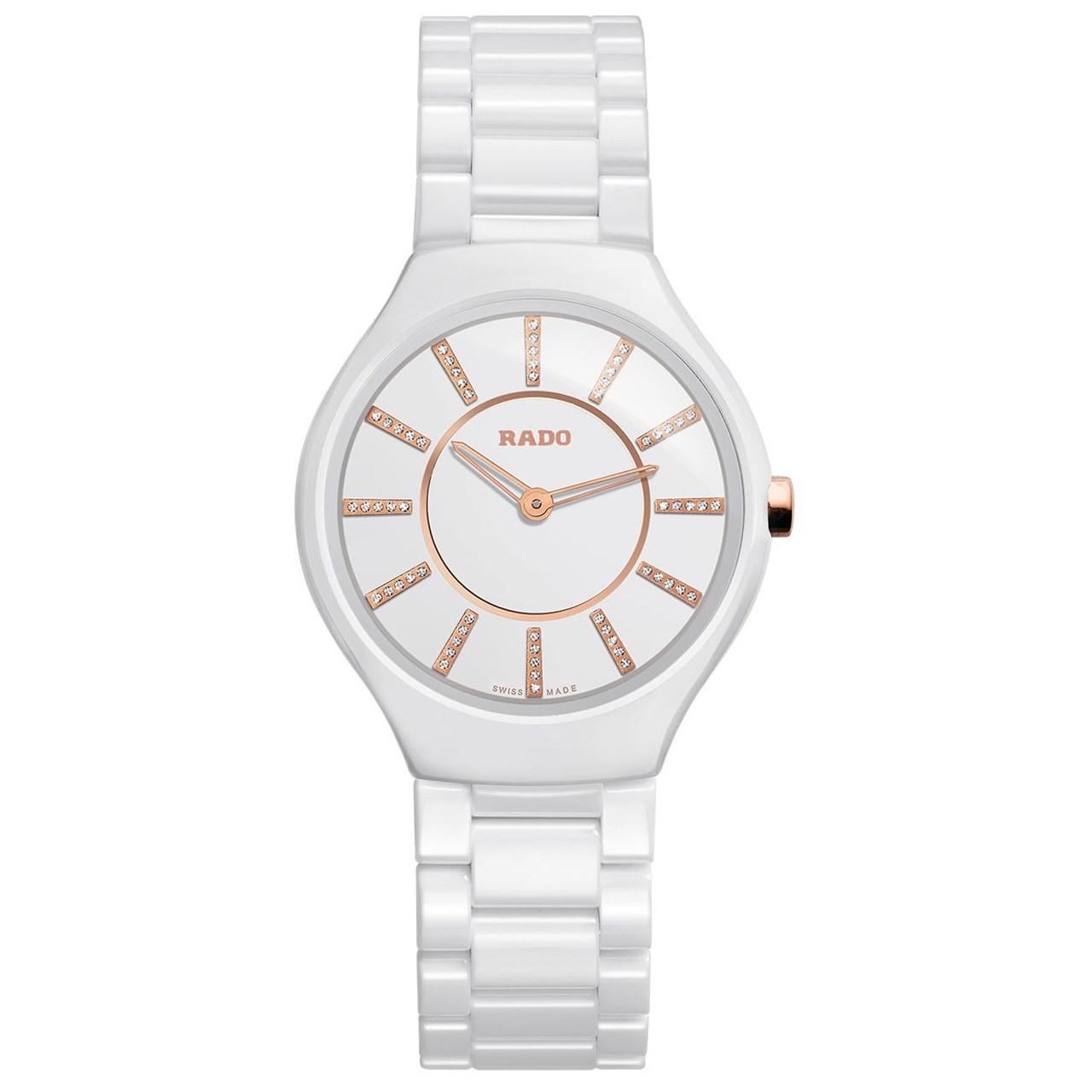 خرید                                      ساعت مچی عقربه ای زنانه رادو مدل 420.0958.3.070