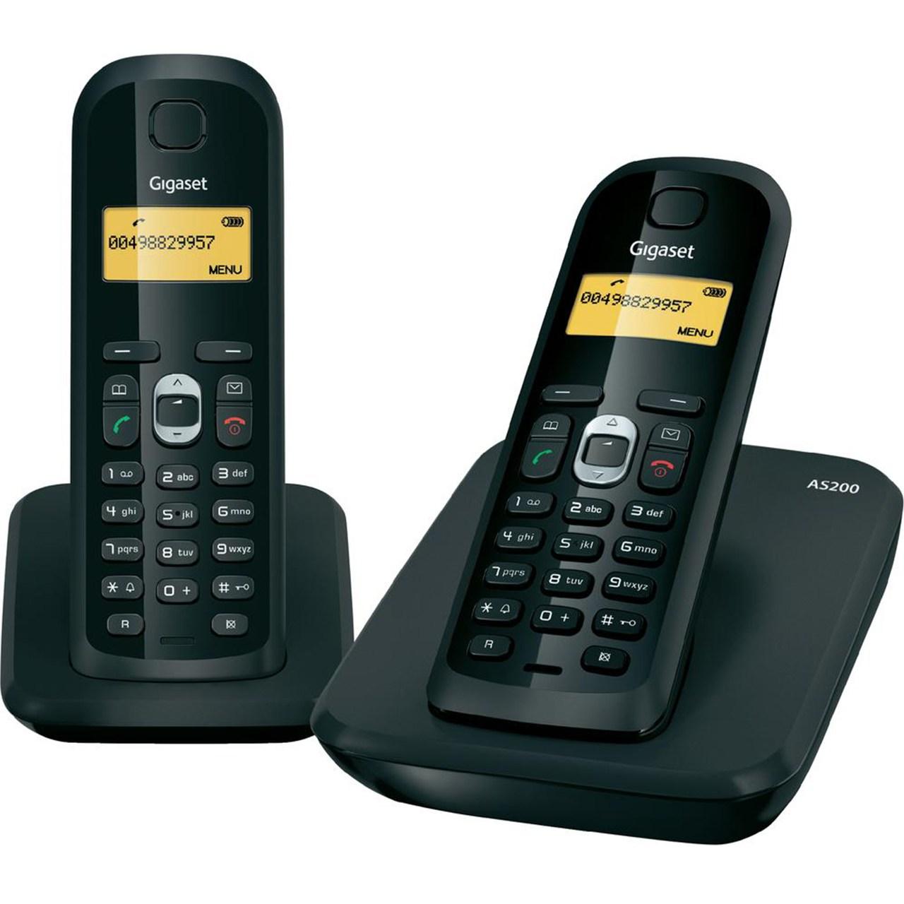 تلفن بی سیم گیگاست مدل AS200 Duo