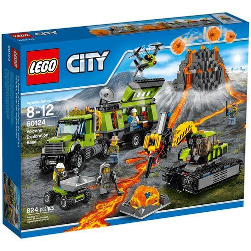 لگو سری City مدل Volcano Exploration Base 60124