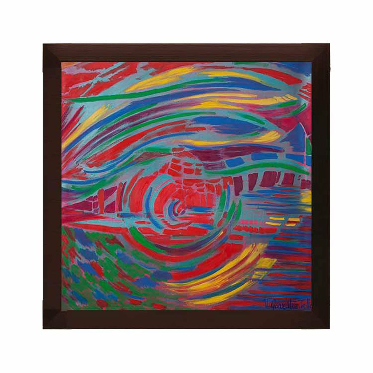 تابلو دیواری مدل نقاشی غروب