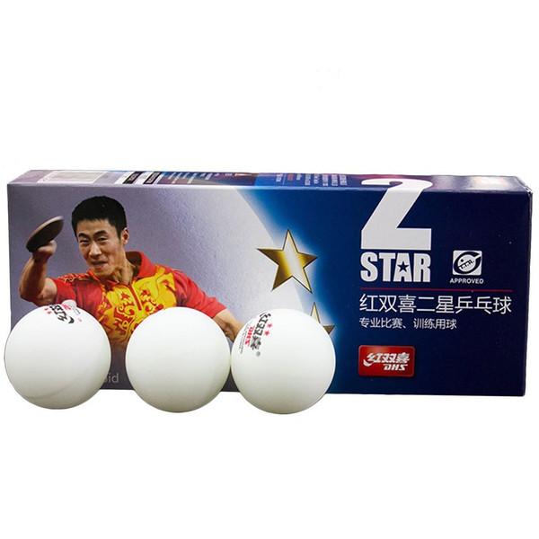 توپ پینگ پنگ دی اچ اس مدل 2 Star بسته 10 عددی