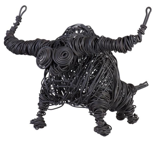 مجسمه جاوید مدل بوفالو