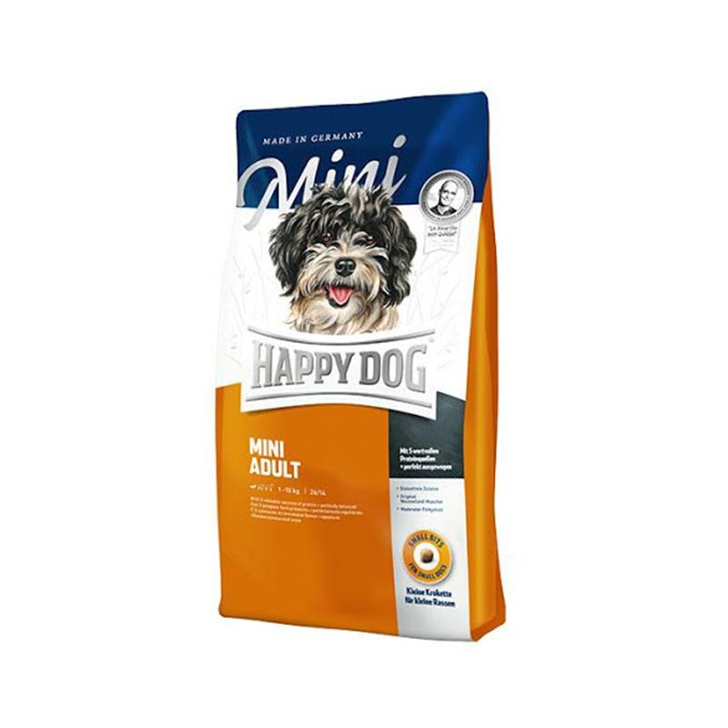 غذای خشک سگ هپی داگ مدل Mini Adult وزن 1 کیلوگرم