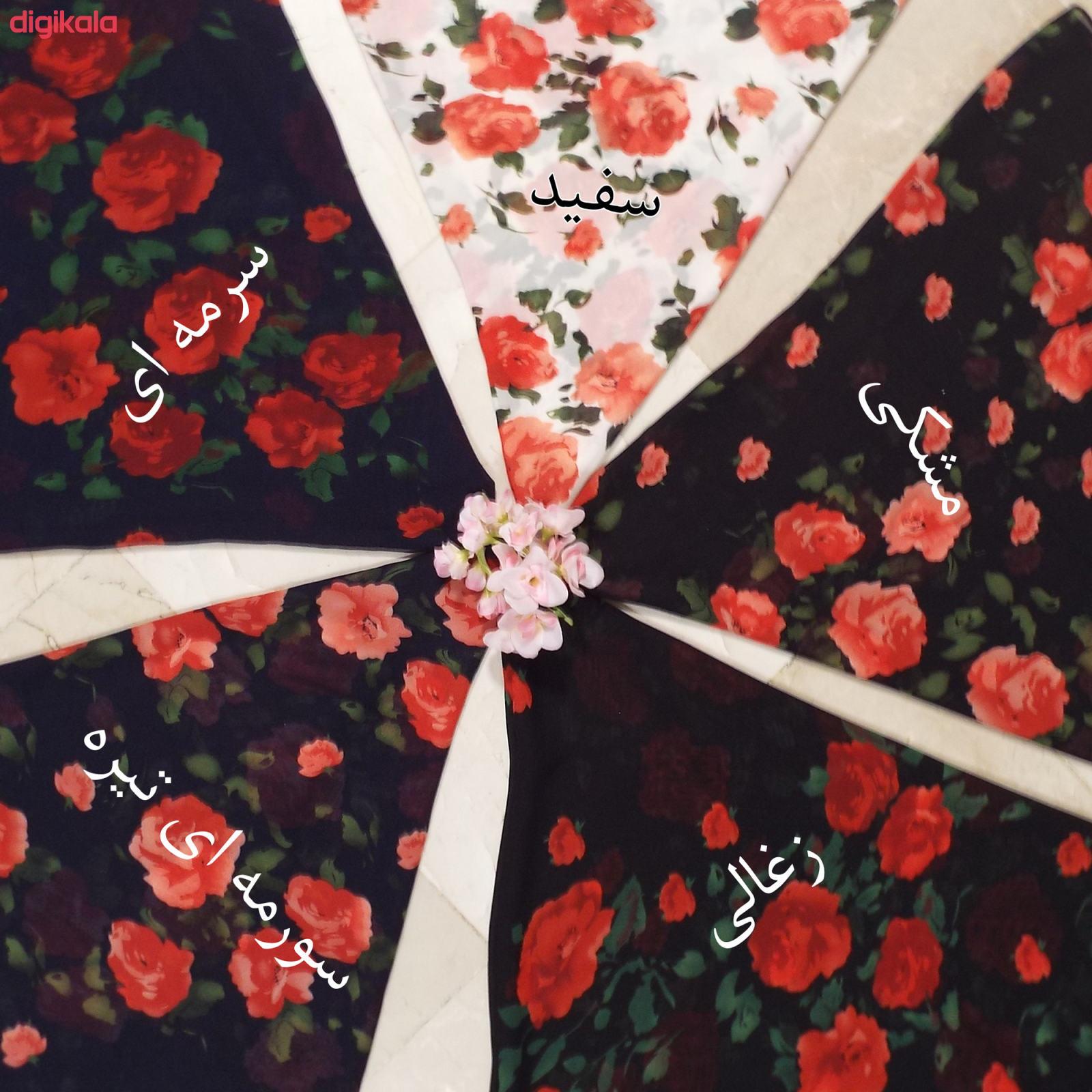 روسری زنانه تبسم کد 1011101 main 1 9
