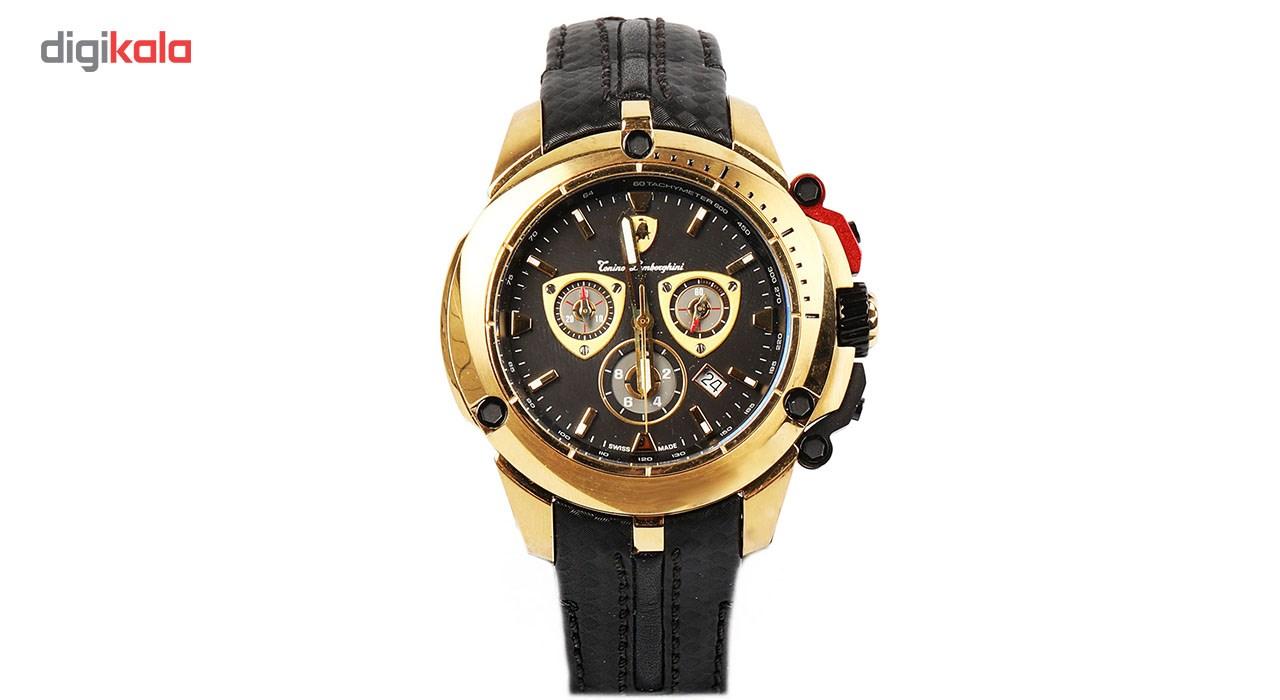 خرید ساعت مچی عقربه ای مردانه تونینو لامبورگینی مدل TL-7838