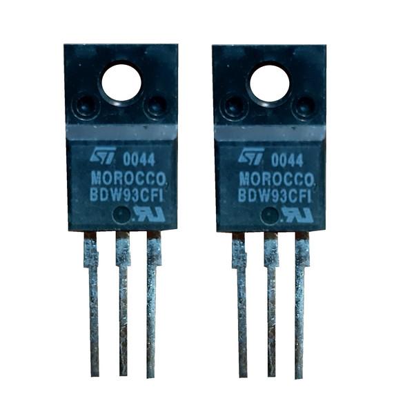 ترانزیستور دارلینگتون  اس تی مایکروالکترونیکس مدل bdw93cfi  بسته 2 عددی