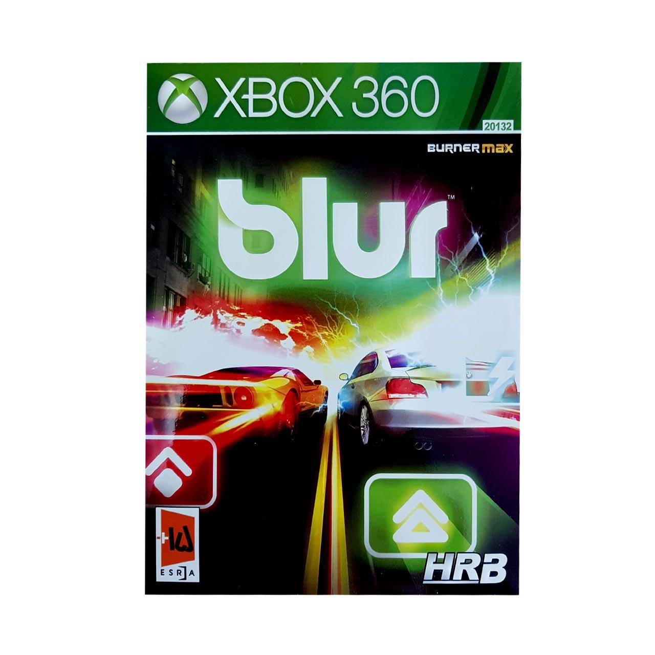 بررسی و {خرید با تخفیف} بازی BLUR مخصوص X box 360 اصل